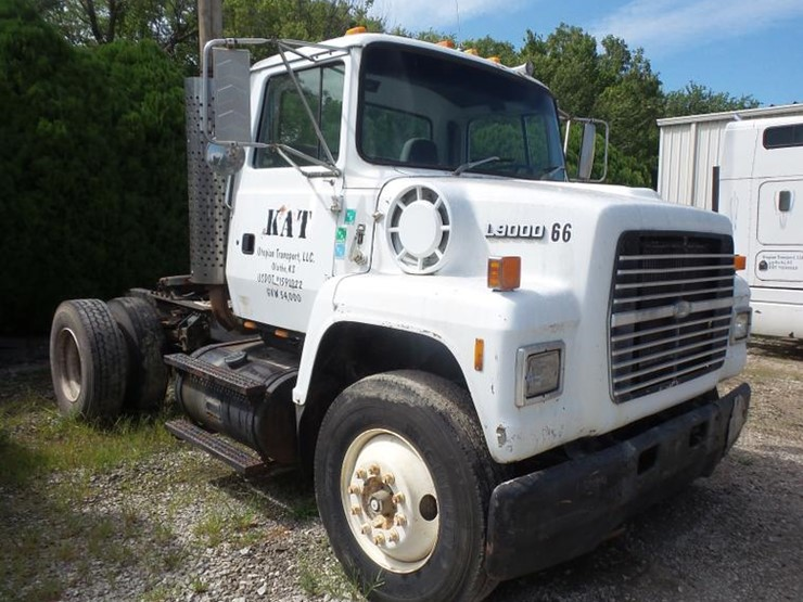 1991 Ford L9000 - Lot #DC5405, Online Only Truck and Trailer