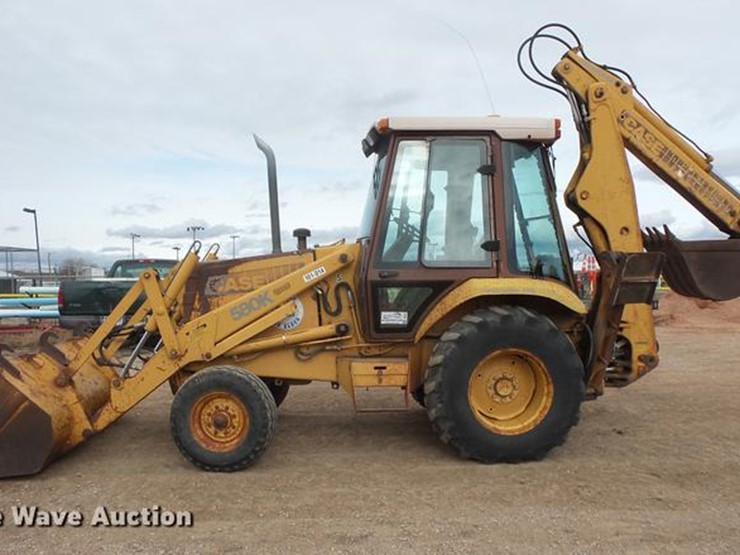 Case 580K - Lot #, Online Only Vehicle and Equipment Auction