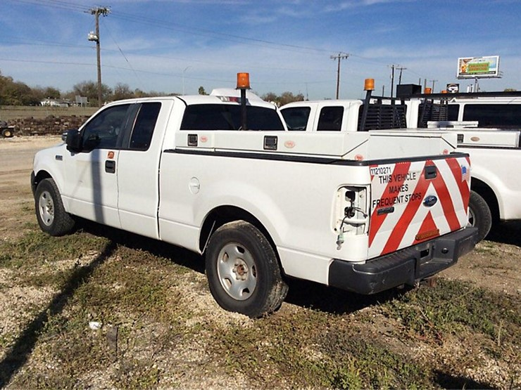 2007 Ford F150 - Lot #33585, Online Only Equipment Auction, 1/19
