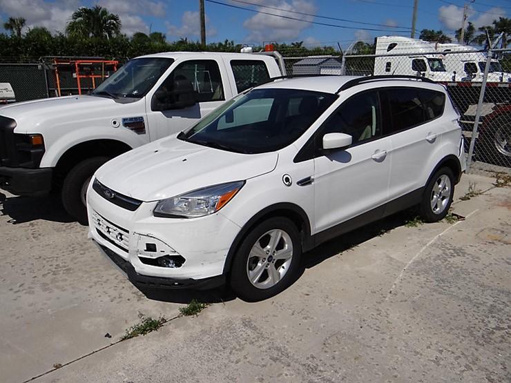 2015 Ford Escape Lot Riviera Beach Fl Equipment Auction 212