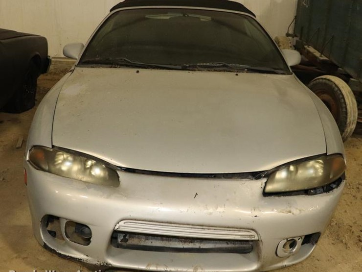 1998 mitsubishi eclipse gs spyder lot online only vehicle and equipment auction 1 24 2018 purple wave auction auction resource 1998 mitsubishi eclipse gs spyder lot