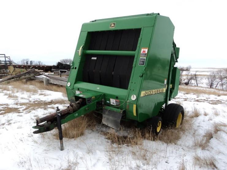2000 John Deere 566 - Lot #33, Online Only Ag Equipment