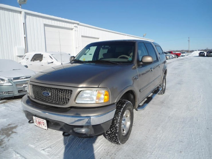 2003 Ford F150 - Lot #120A, Online Only Ag Equipment Auction