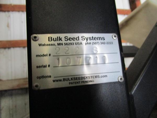 Bulk Seed Tender - Lot #377, Online Only Ag Equipment