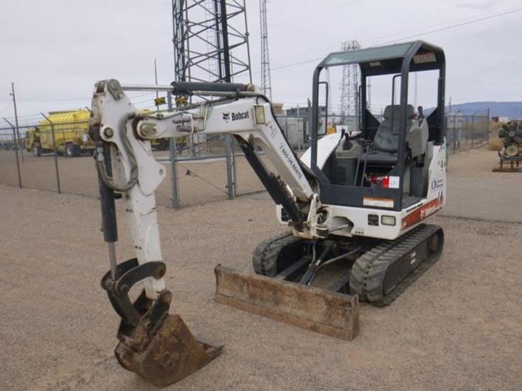 2011 Bobcat 325 Mini Excavator w/ Auxiliary Hydraulics, Q/C