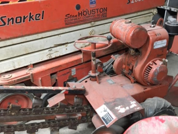 Ditch Witch Trencher - Lot #175, Online Only Equipment