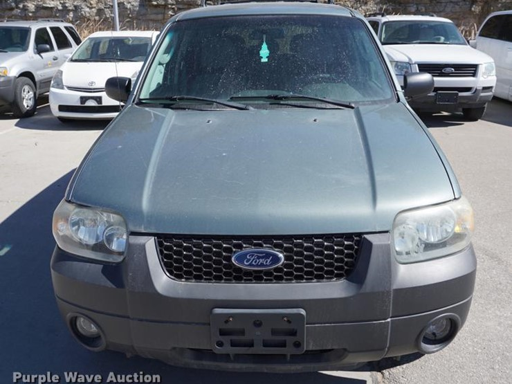 2005 Ford Escape Hybrid Lot De3098 Online Only Government