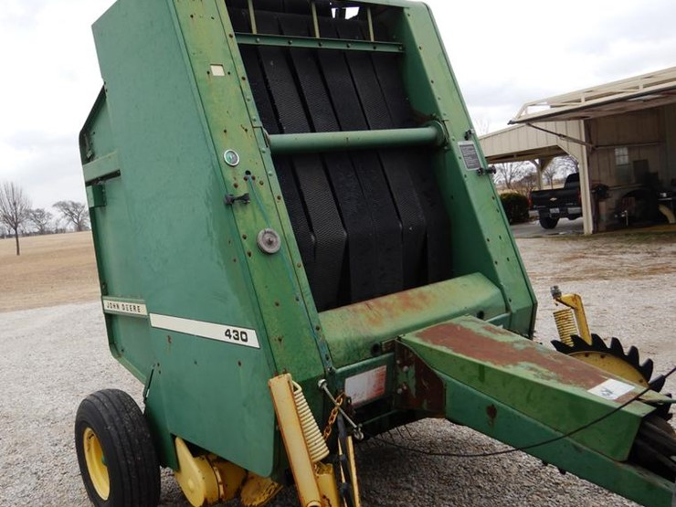 1988 John Deere 430 - Lot #DC5974, Online Only Ag Equipment