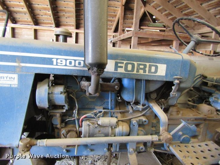 1981 Ford 1900 - Lot #EI9309, Online Only Government Equipment