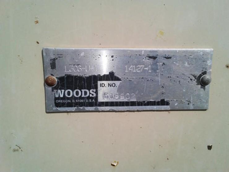IH McCormick Farmall B Tractor W/ Woods Mower - Lot #382