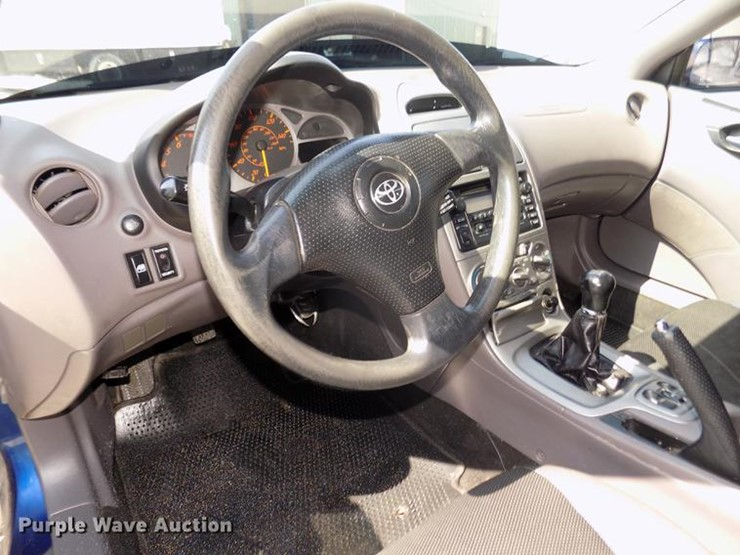 2001 Toyota Celica Gt Lot Dd2826 Online Only Vehicle And