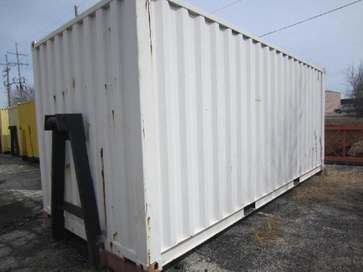 20 Storage Container with Roll Off Truck Capability Lot 1003