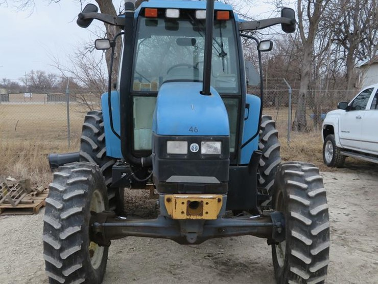 2000 New Holland TS110 - Lot #DC0902, Online Only Government Auction