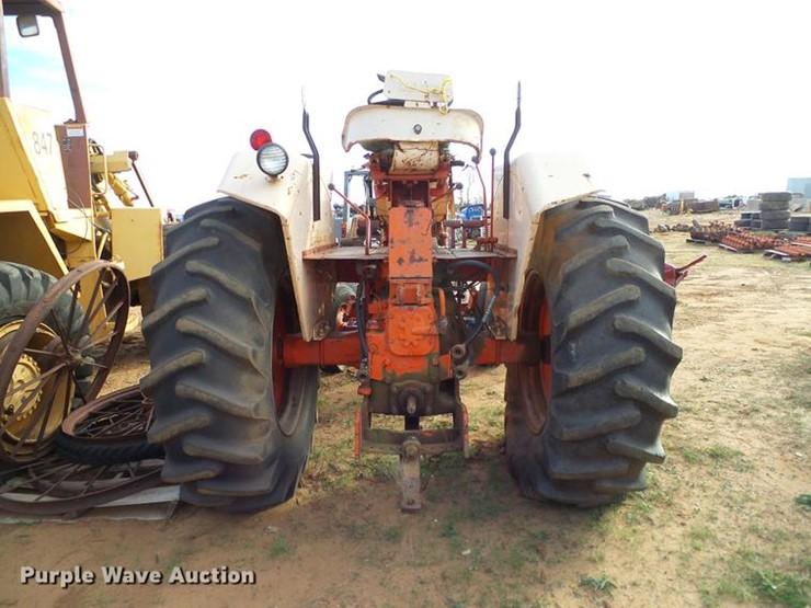 1968 Case 830 - Lot #DZ9768, Online Only Ag Equipment