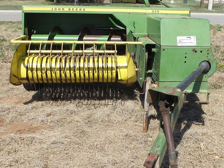 1973 John Deere 336 - Lot #DC3089, Online Only Ag Equipment
