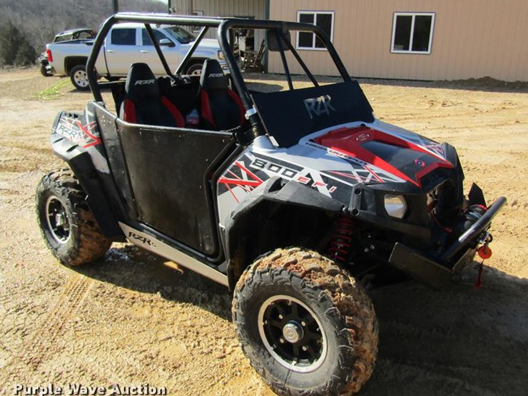 2012 Polaris RANGER - Lot #DC4325, Online Only Vehicle and