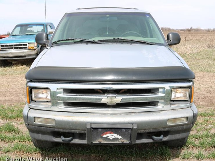 1996 Chevrolet Blazer Ls Lot Dc7648 Online Only Vehicle And