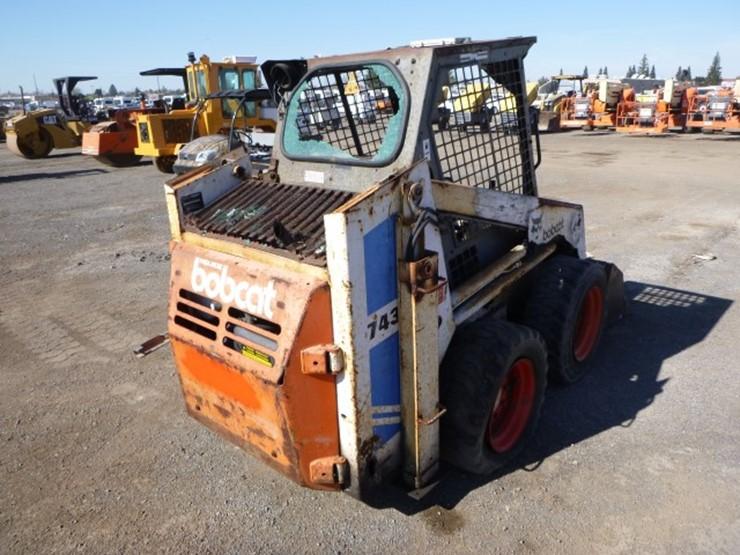 Bobcat 743 - Lot #3117, Equipment Auction, 5/12/2018, Bar