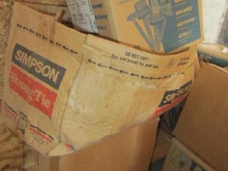 Building Supplies - Lot #2646, Construction Equipment Auction, 5/22