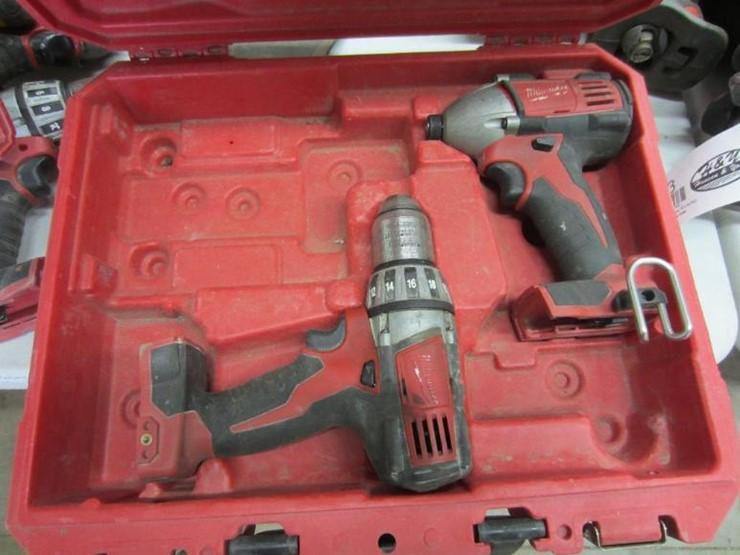 Milwaukee Tools - Lot #4091, Construction Equipment Auction