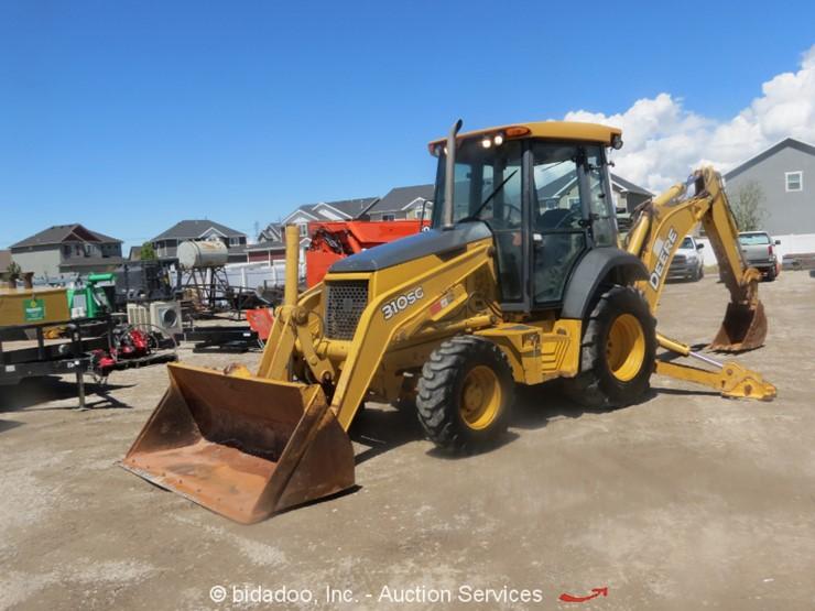 2006 Deere 310SG Lot Online Only Equipment Auction 5