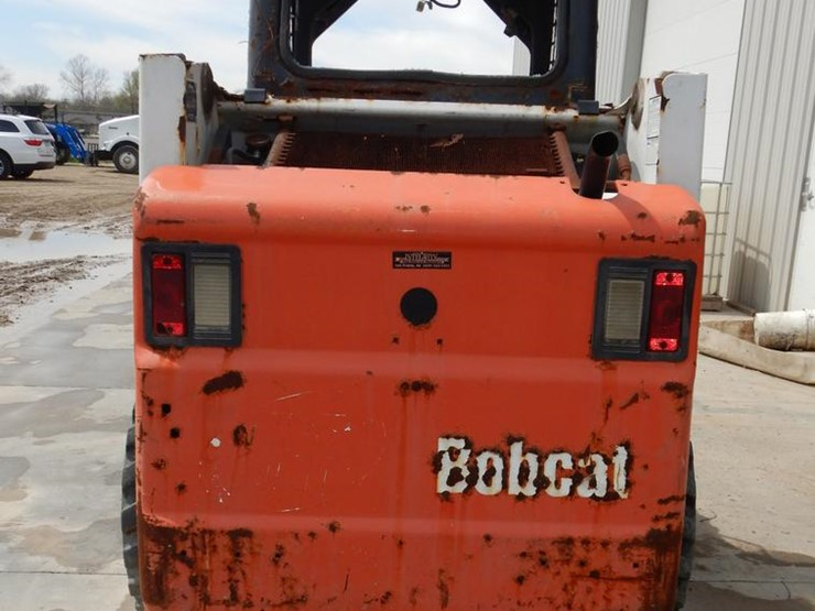 2002 Bobcat 753 - Lot #DC0447, Online Only Ag Equipment
