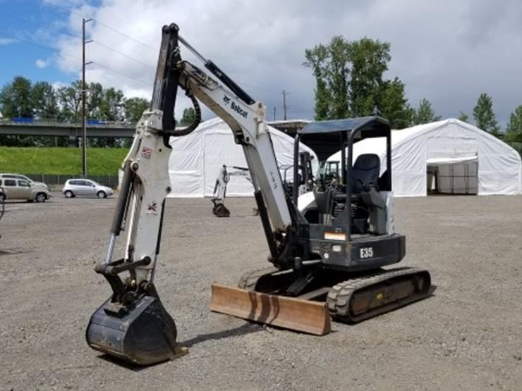 2012 Bobcat E35 - Lot #2409, Equipment Auction, 5/25/2018