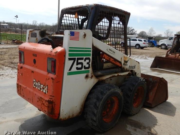 2002 Bobcat 753 - Lot #DC0447, Online Only Ag Equipment Auction, 5