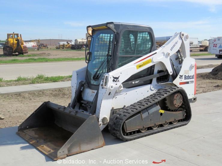 2014 Bobcat T650 - Lot #, Online Only Equipment Auction, 5