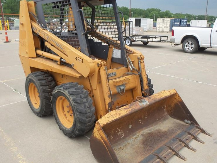 1999 Case 1840 - Lot #DB6061, Online Only Construction Equipment