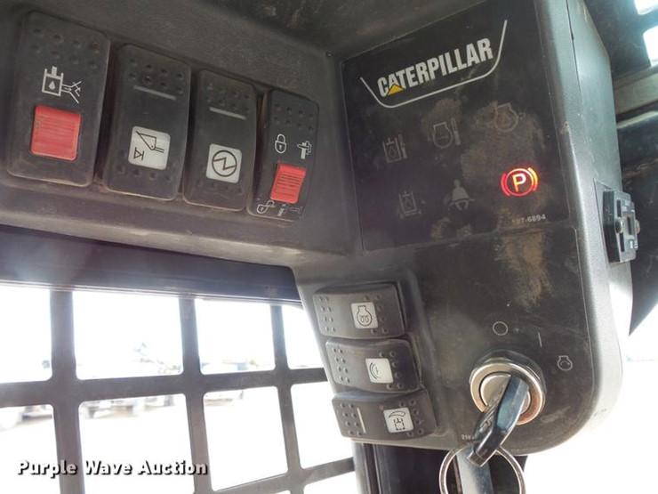 2007 Caterpillar 287B - Lot #DV9720, Online Only