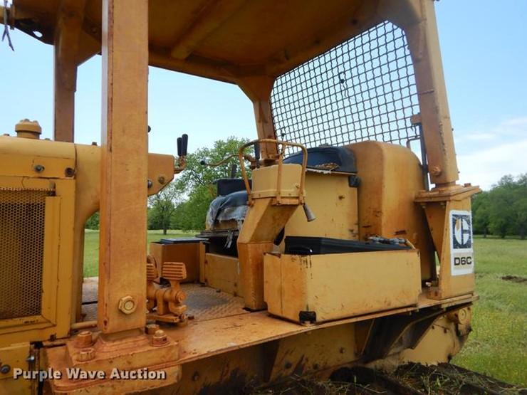 0 Caterpillar D6C - Lot #EI9175, Online Only Construction