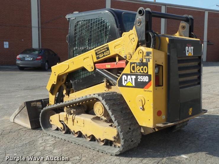 2015 Caterpillar 259D - Lot #DD7191, Online Only Equipment