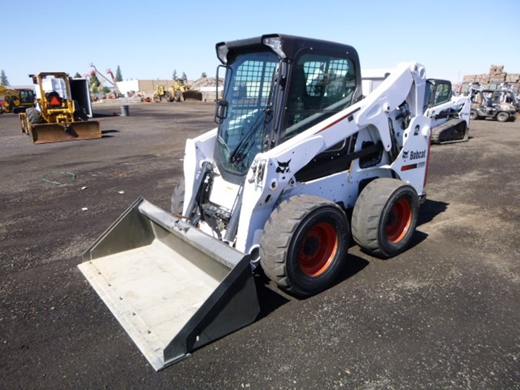 2015 Bobcat S650 - Lot #3129, Equipment Auction, 6/8/2018