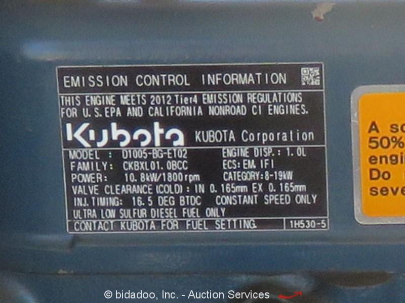 2012 Magnum MLT3060K - Lot #, Online Only Equipment Auction