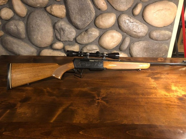 browning 300 win mag semi auto rifle lot 357 live online