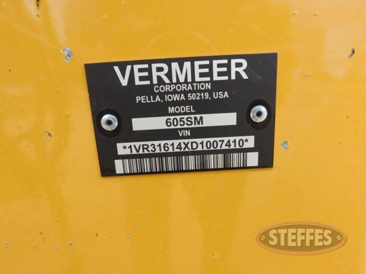 Vermeer 605M - Lot #12, Equipment Auction, 6/28/2018, Steffes Group
