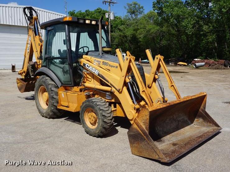 Case 580 Super M - Lot #DB6010, Online Only Construction