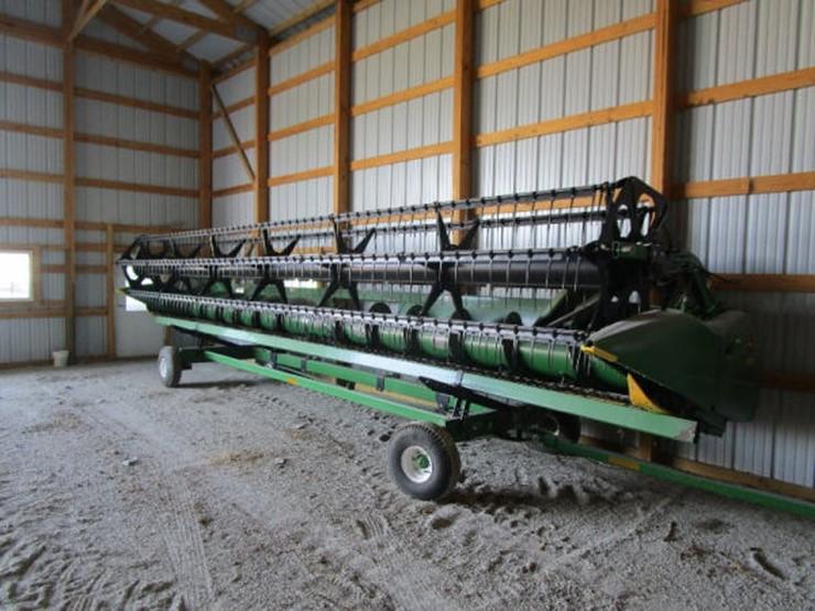John Deere 630F - Lot #63, Online Only Farm Equipment
