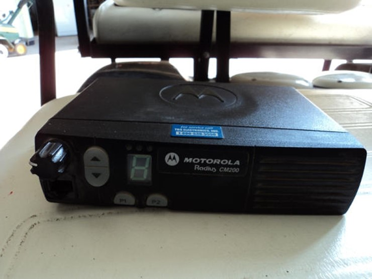 Motorola Radios - Lot #18, Online Only Farm Equipment Auction, 6/28