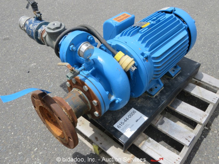 2012 Paco Pumps 10-30707 - Lot #, Online Only Equipment
