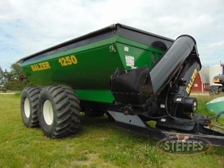 2007 Balzer 1250 - Lot #47, Farm Equipment Auction, 7/6/2018