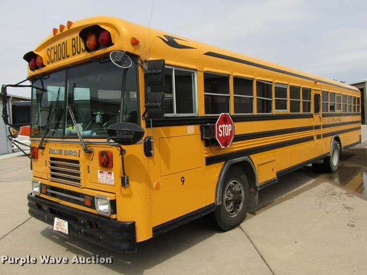 1995 Blue Bird TC2000 - Lot #DD5714, Online Only Government