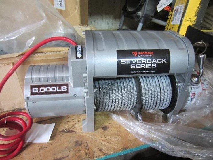 ProMark Off-Road 8000 Pound Electric Winch - Lot #2161, Equipment ...