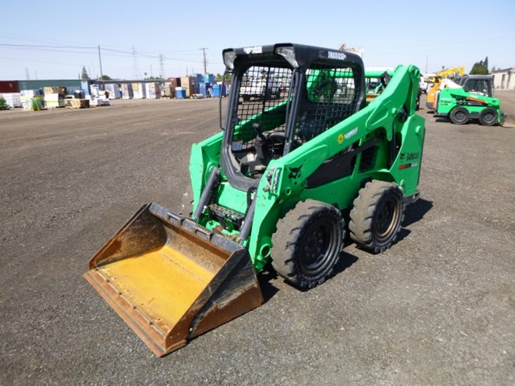 2015 Bobcat S530 - Lot #93, Equipment Auction, 7/14/2018