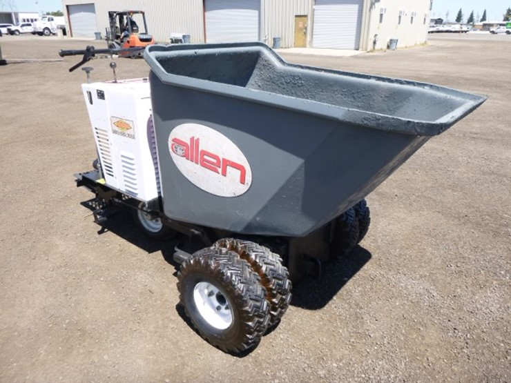 2007 Miller MB16F Concrete Power Buggy - Lot #45, Equipment Auction