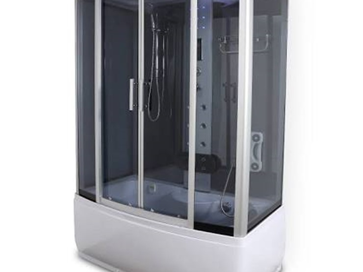 Steam Shower Tub/Jacuzzi Combo - Lot #2361, Equipment Auction, 7/14 ...