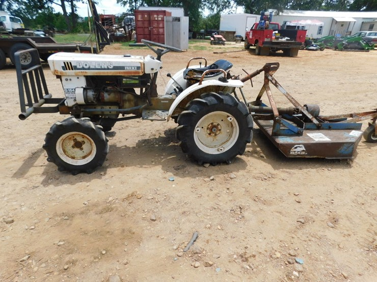 BOLENS ISEKI TRACTOR WITH SHREDDER - Lot #7030, July Farm
