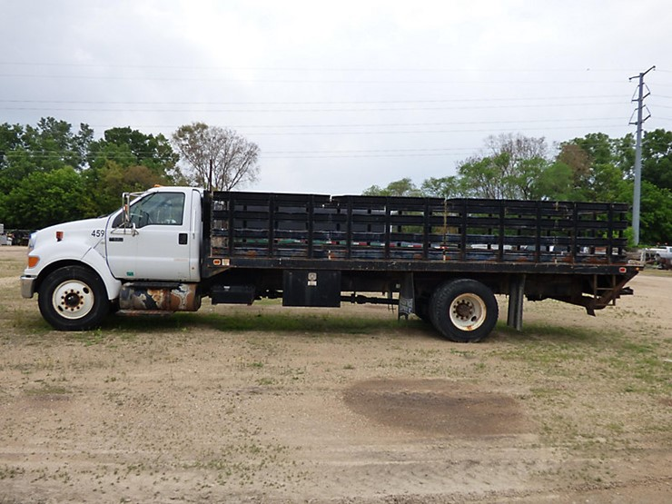 2008 Ford F650 - Lot #421, Equipment Auction, 7/21/2018
