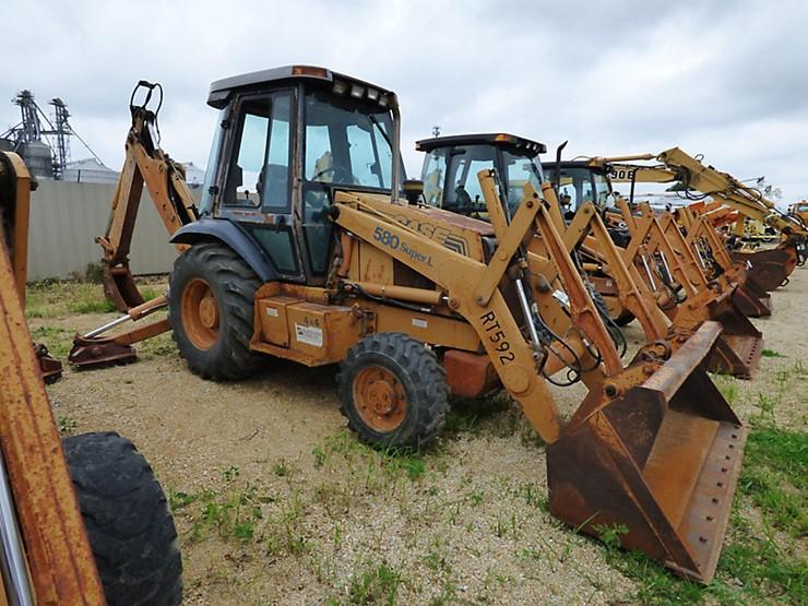 1997 Case 580 Super L - Lot #513, Equipment Auction, 7/21